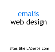 Emalis web design. Streamlined. Straightforward. Easily managed.